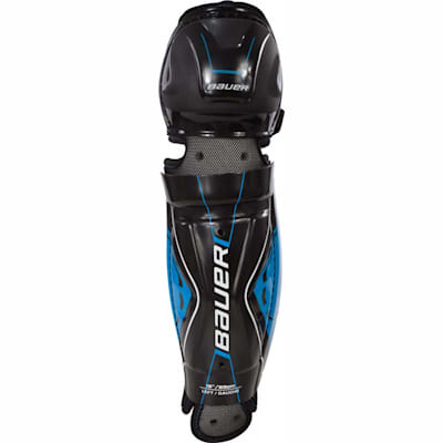 Front View (Bauer Street Hockey Shin Guards - Senior)