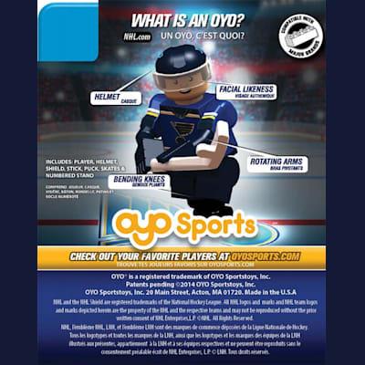 (OYO Sports Blues OYO NHL Mini Figures - Home Jersey)