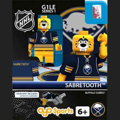 Sabretooth (OYO Sports NHL Mascots G1 Mini Figures)