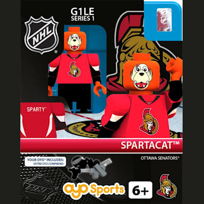 Spartacat (OYO Sports NHL Mascots G1 Mini Figures)