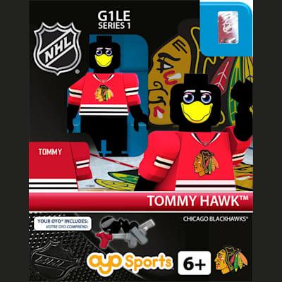 Tommy Hawk (OYO Sports NHL Mascots G1 Mini Figures)