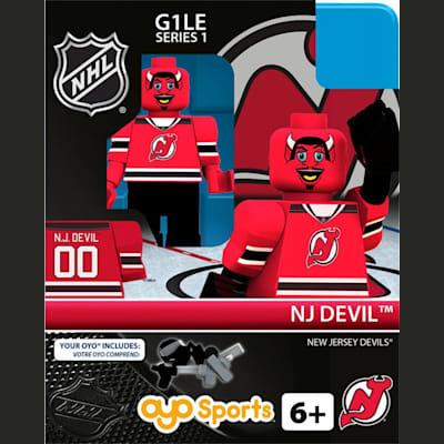 NJ Devil (OYO Sports NHL Mascots G1 Mini Figures)