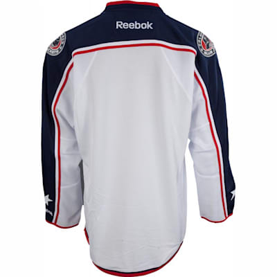 new product 23b95 35fb1 Reebok Columbus Blue Jackets Premier Jersey - Away/White ...