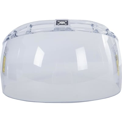 Head-on (Oakley Straight Cut Half Shield with Vents)