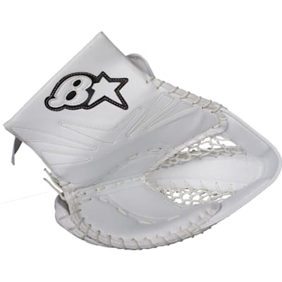 White/White/White (Brians Net Zero Goalie Catch Glove - Senior)