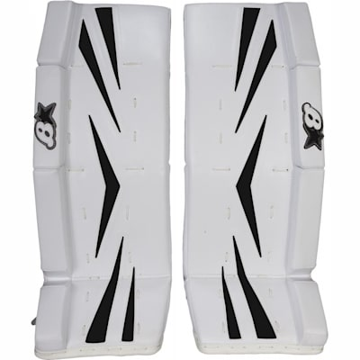 Black (Brians Brian's Net Zero Color Kit Hockey Goalie Pad Kit - Junior)