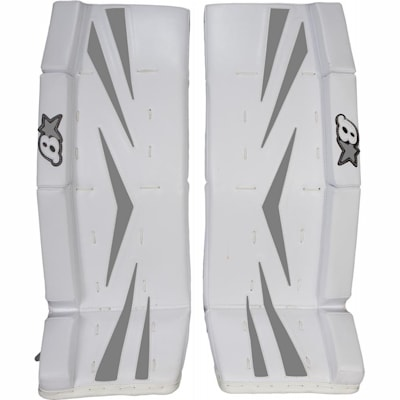 Silver (Brians Brian's Net Zero Color Kit Hockey Goalie Pad Kit - Junior)