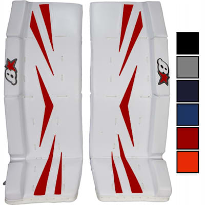 (Brians Brian's Net Zero Color Kit Hockey Goalie Pad Kit - Junior)