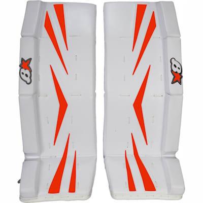 Orange (Brians Brian's Net Zero Color Kit Hockey Goalie Pad Kit - Senior)