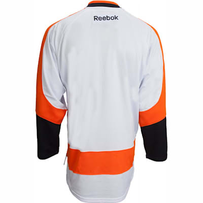 Back View (Reebok Philadelphia Flyers Premier Jersey - Away/White - Youth)