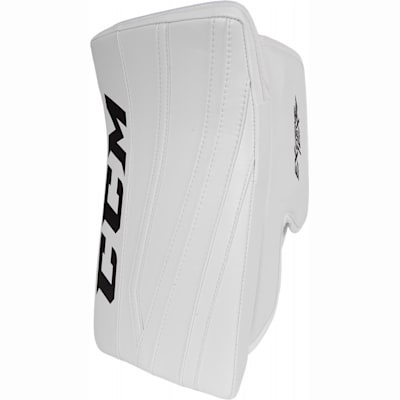 White/White/White (CCM Extreme Flex II Pro Goalie Blocker - Senior)
