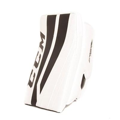 White/Black (CCM Extreme Flex II 860 Goalie Blocker - Senior)