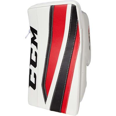 White/Black/Red (CCM Extreme Flex II 860 Goalie Blocker - Senior)