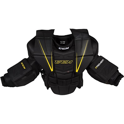 Front View (CCM Premier Pro Hockey Goalie Chest and Arm Protector - Senior)