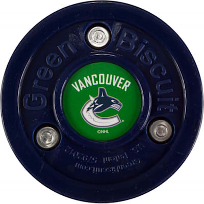 Vancouver Canucks (Green Biscuit NHL Team Logo Puck)