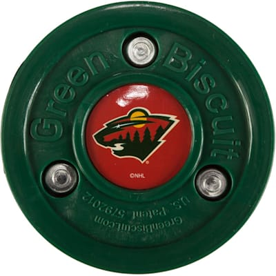 Minnesota Wild (Green Biscuit NHL Team Logo Puck)