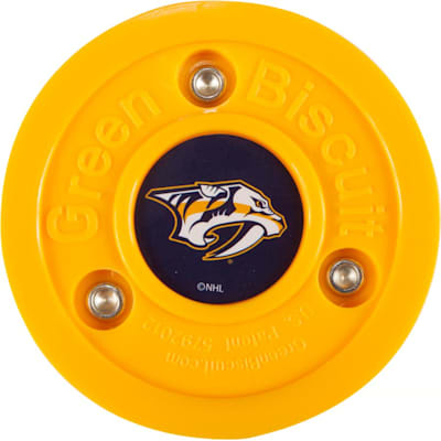 Nashville Predators (Green Biscuit NHL Team Logo Puck)