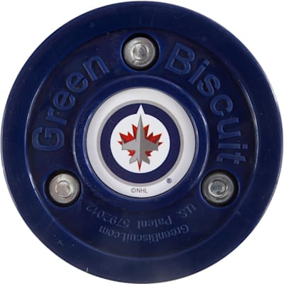 Winnipeg Jets (Green Biscuit NHL Team Logo Puck)