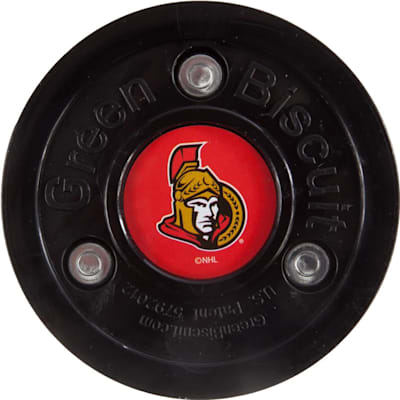 Ottawa Senators (Green Biscuit NHL Team Logo Puck)