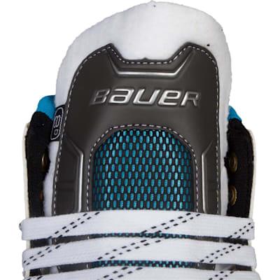 Outside Of Tongue (Bauer Reactor 7000 Goalie Skates - Senior)