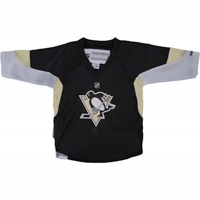 sports shoes 336b7 68f33 Reebok Sidney Crosby Pittsburgh Penguins Replica Home Jersey ...