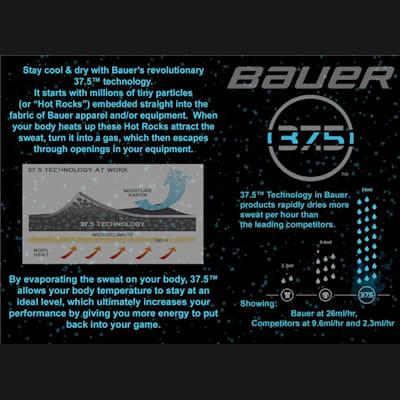 37.5™ Technology (Bauer Vapor 1X Ice Hockey Skates - Junior)