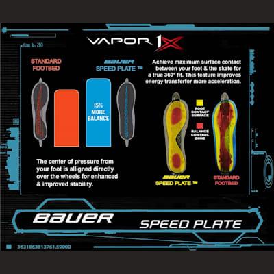(Bauer Vapor 1X Ice Hockey Skates - Junior)