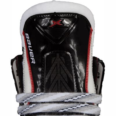 Tongue View (Bauer Vapor 1X Ice Hockey Skates - Senior)