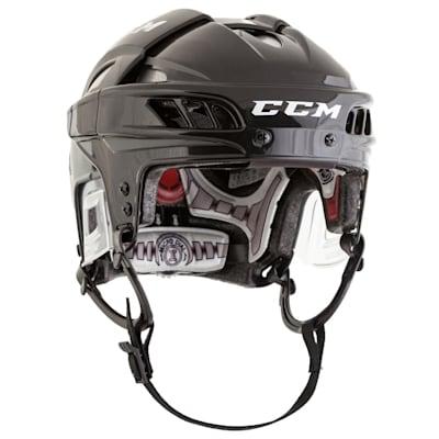 Black/Silver (CCM FitLIte Hockey Helmet)