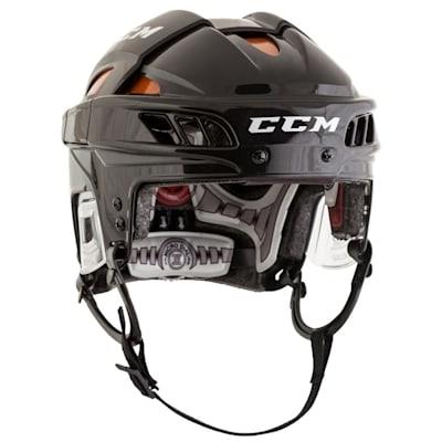 Black/Orange (CCM FitLIte Hockey Helmet)