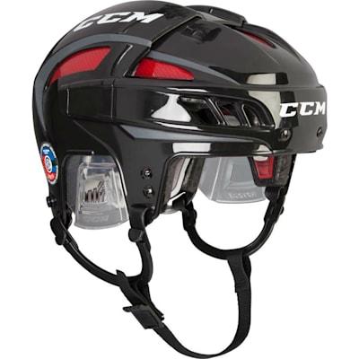 Black/Red (CCM FitLIte Hockey Helmet)