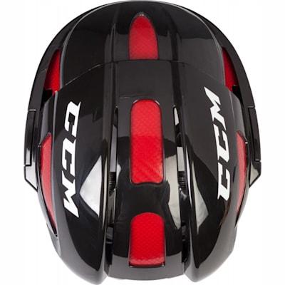 Top View (CCM FitLIte Hockey Helmet)