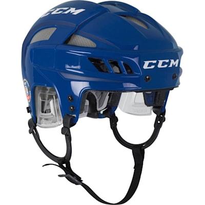 Royal/Silver (CCM FitLIte Hockey Helmet)