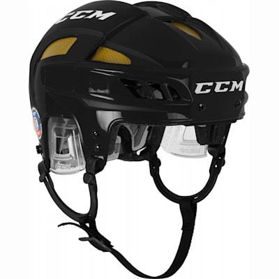Black/Yellow (CCM FitLIte Hockey Helmet)