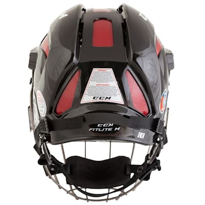 (CCM FitLite Hockey Helmet Combo)