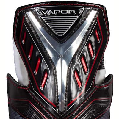Zoomed Back View (Bauer Vapor X500 Ice Hockey Skates - Junior)