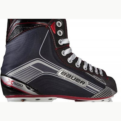 Boot View (Bauer Vapor X500 Ice Hockey Skates - Junior)
