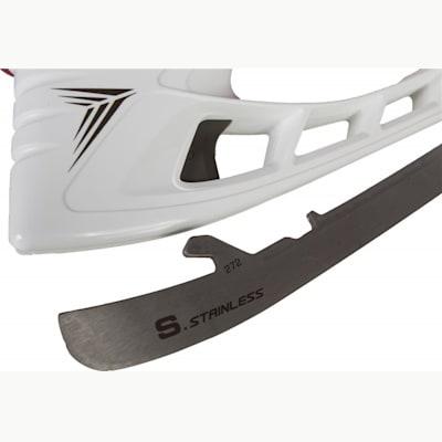 Tuuk and Blade View (Bauer Vapor X500 Ice Hockey Skates - Junior)