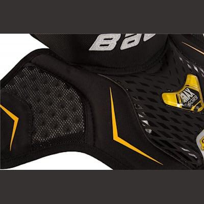 Side View (Bauer Supreme Goalie Neck Guard - Senior)