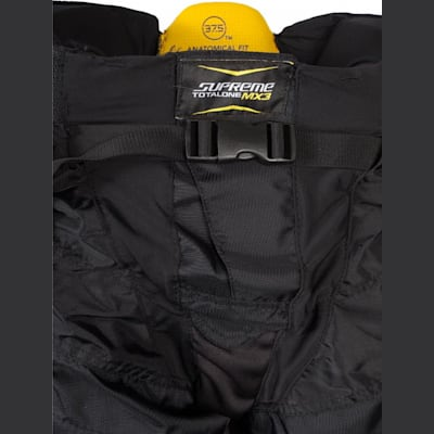 Buckle View (Bauer Supreme TotalOne MX3 Hockey Pants - Senior)