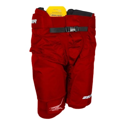 Red (Bauer Supreme 190 Ice Hockey Pants - Senior)