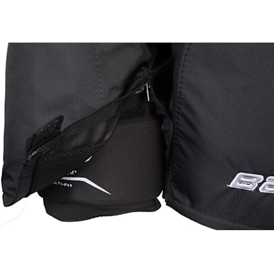 Zipper View (Bauer Supreme 190 Hockey Pants - Senior)