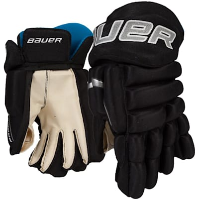 Black (Bauer Prodigy Hockey Gloves - Youth)