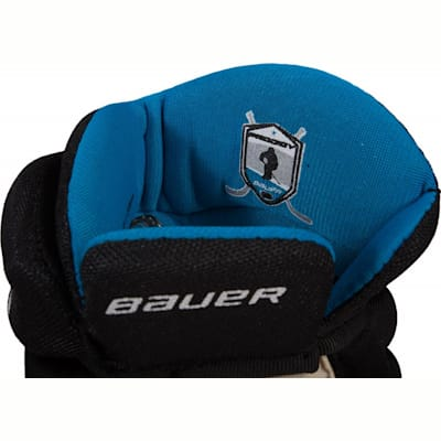 Cuff View (Bauer Prodigy Hockey Gloves - Youth)