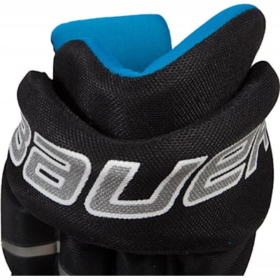Back Cuff View (Bauer Prodigy Hockey Gloves - Youth)