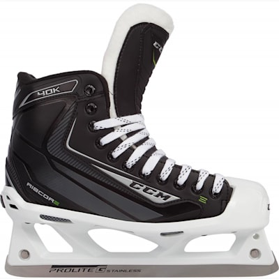 (CCM RIBCOR 40K Goalie Skates - Junior)