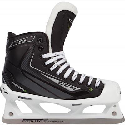 (CCM RIBCOR 40K Goalie Skates - Junior)