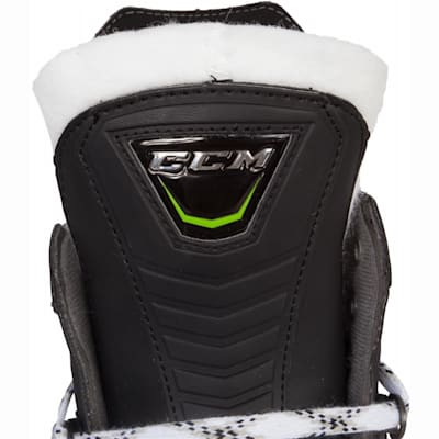 Tongue View (CCM RIBCOR 44K Ice Hockey Skates - Junior)