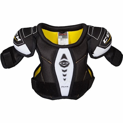 Front View (CCM Tacks Hockey Shoulder Pads - Youth)