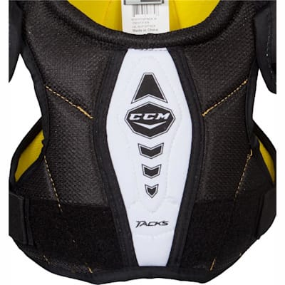 Sternum View (CCM Tacks Hockey Shoulder Pads - Youth)